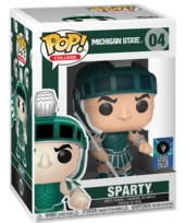 Funko POP: College: Michigan State: Sparty (04)