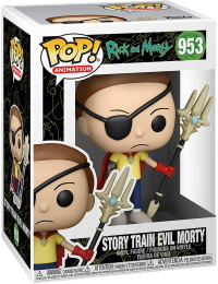 Funko POP: Animation: Rick and Morty: Story Train Evil Morty (953)