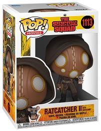 Funko POP: Movies: Suicide Squad: Ratcatcher II with Sebastian (1113)