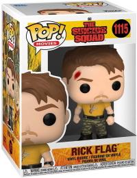 Funko POP: Movies: The Suicide Squad: Rick Flag (1115)