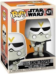 Funko POP: Star Wars: Concept Series: Snowtrooper (471)