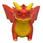 Figures of Adorable Power: Dungeons and Dragons Red Dragon
