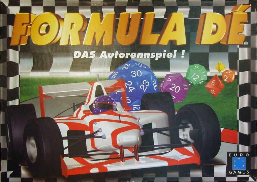 Formula De Board Game - USED - By Seller No: 829 Joe Piva
