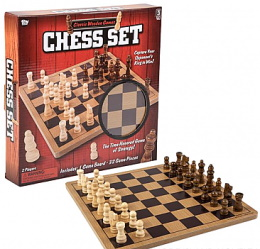 Wooden Chess Set (10in)