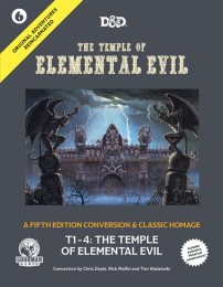 Dungeons and Dragons 5th Ed: Original Adventures Reincarnated: The Temple of Elemental Evil