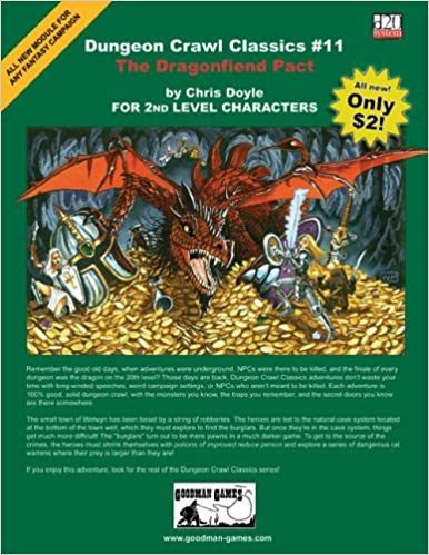Dungeon Crawl Classics No. 11 - Used