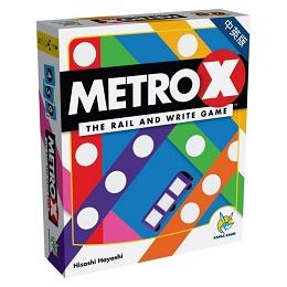 Metro X Card Game