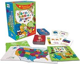 The Scrambled States of America Card Game