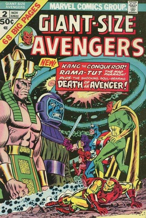 Avengers (1963) Giant Size no. 2 - Used
