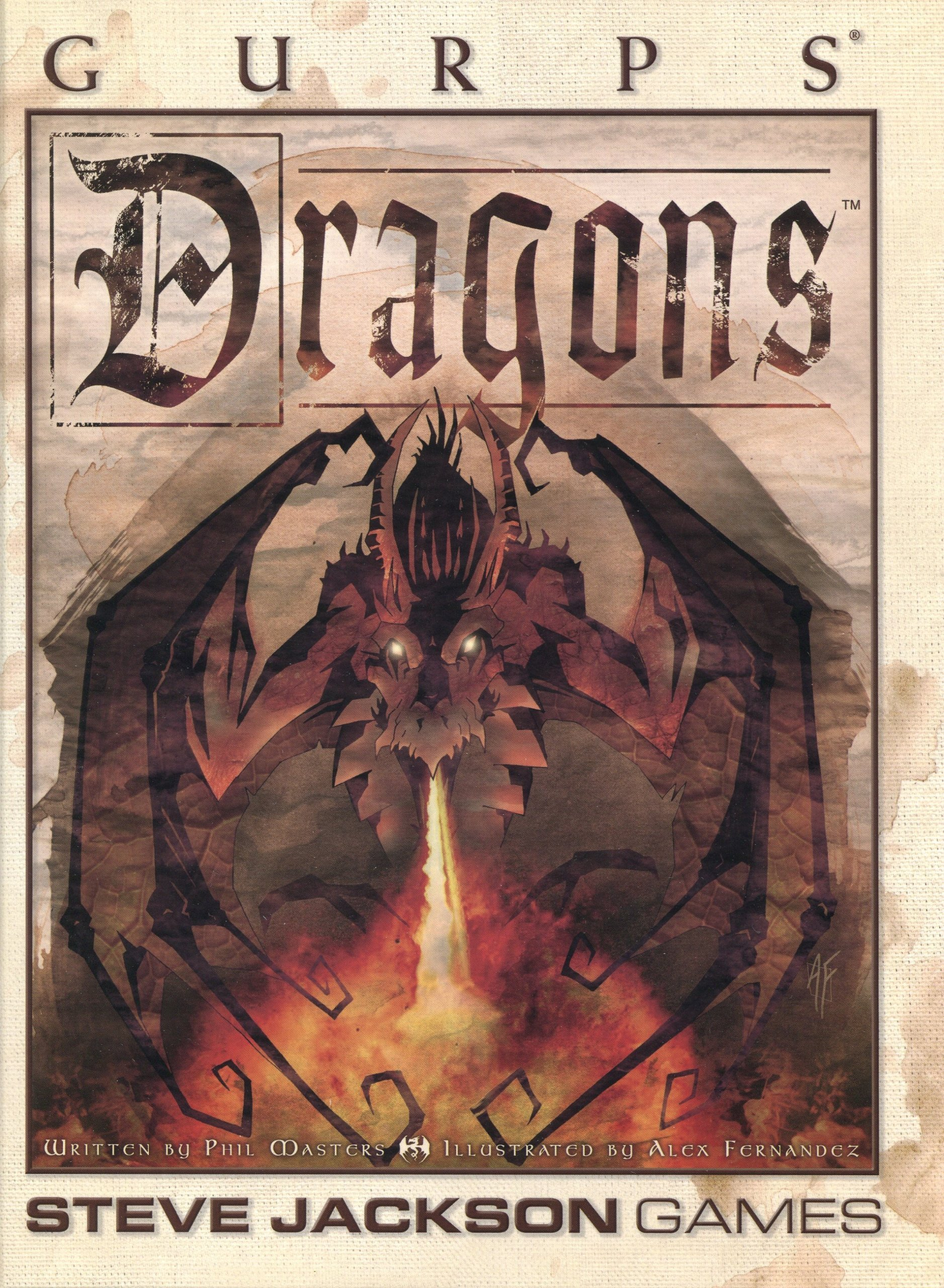 Gurps 3rd Ed: Dragons Campaign Book - Used