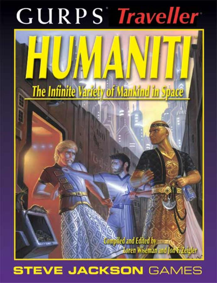Gurps Traveller: Humaniti  - Used