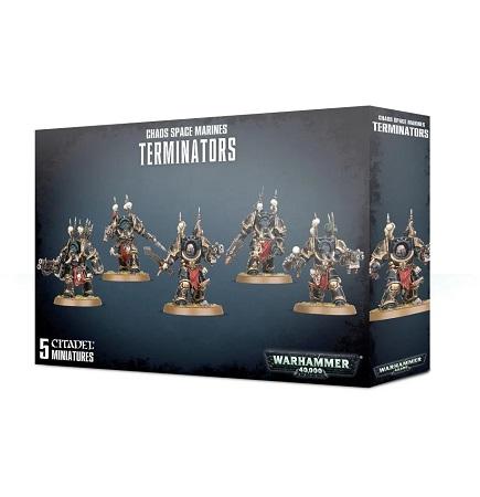 Warhammer 40K: Chaos Space Marines: Terminators 43-19 (Updated Models)