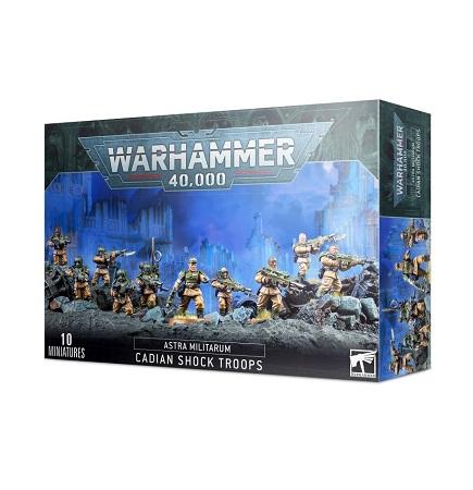 Warhammer 40K: Astra Militarum: Cadian Shock Troops