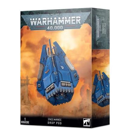 Warhammer 40k: Space Marine Drop Pod
