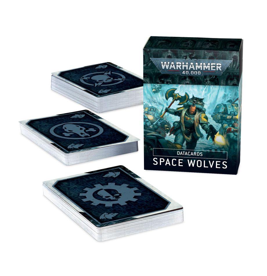 Warhammer 40K: Datacards: Space Wolves 53-02