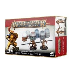 Warhammer Age of Sigmar: Stormcast Eternals Vindicators and Paint Set 60-10