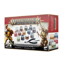 Warhammer Age of Sigmar: Paint and Tools Set 80-17