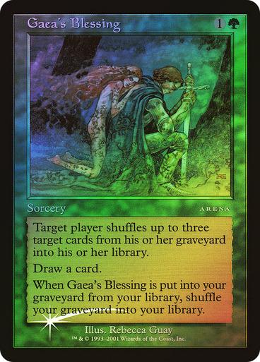 Gaea's Blessing (Arena Promo) - FOIL