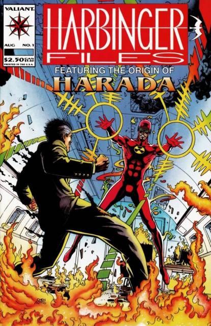 Harbinger Files (1994) Complete Bundle - Used