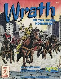 Wrath of the Seven Horsemen Adventure Supplement