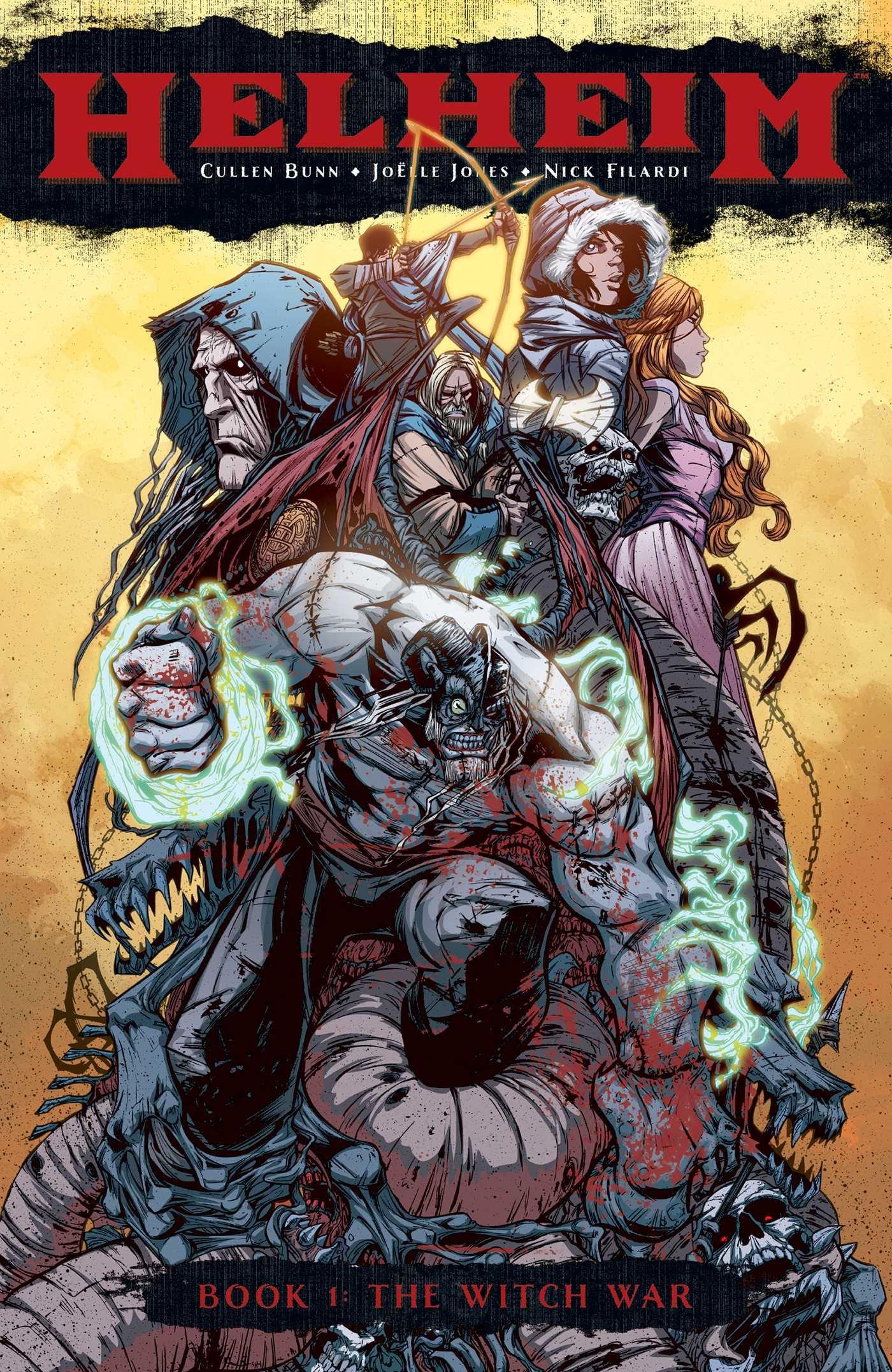 Helheim: Volume 1: The Witch War TP - Used