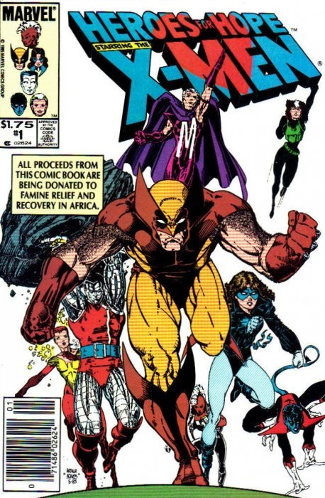 Heroes For Hope Starring the X-Men (1985) no. 1 One Shot - Used