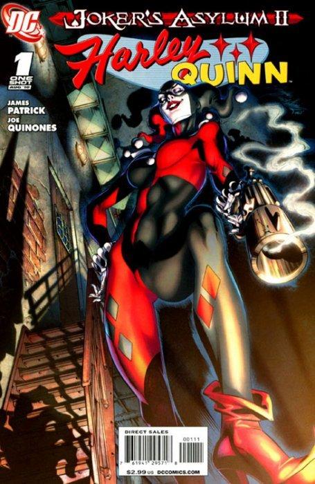 Harley Quinn Joker's Asylum II (2010) no. 1 - Used