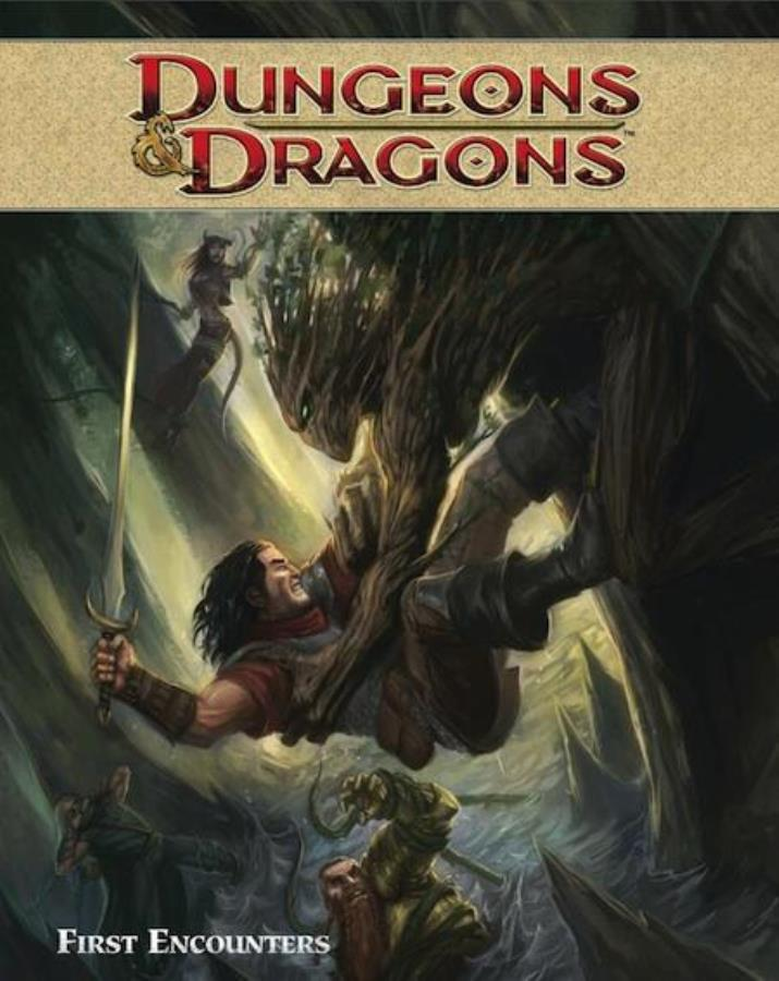 Dungeons and Dragons: Volume 2: First Encounters GN - Used