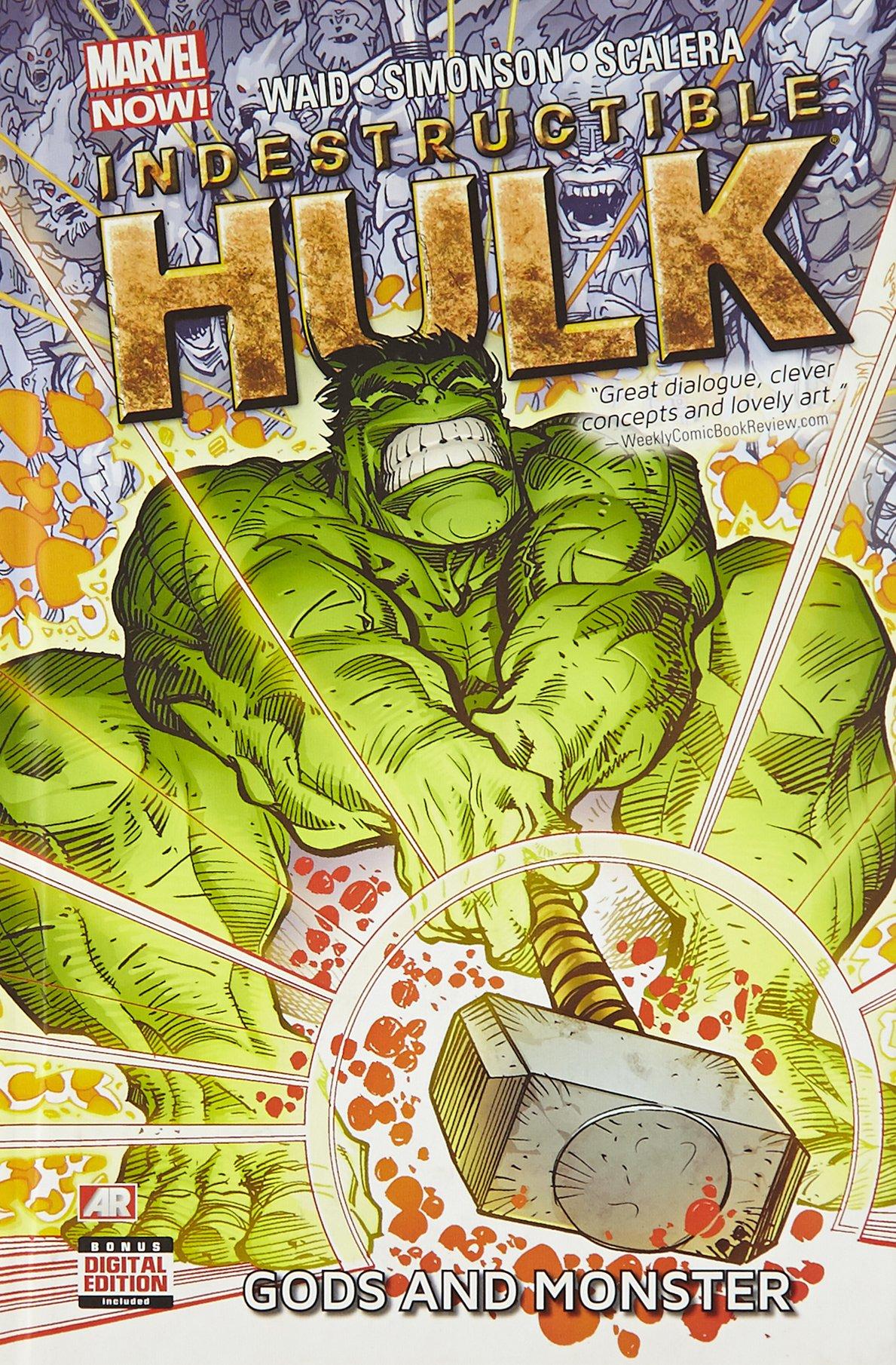 Indestructible Hulk: Volume 2: Gods and Monster HC - Used