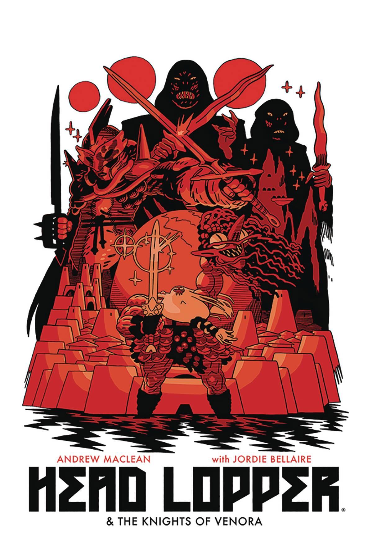 Head Lopper TP Volume Three Knights of Venora (MR)