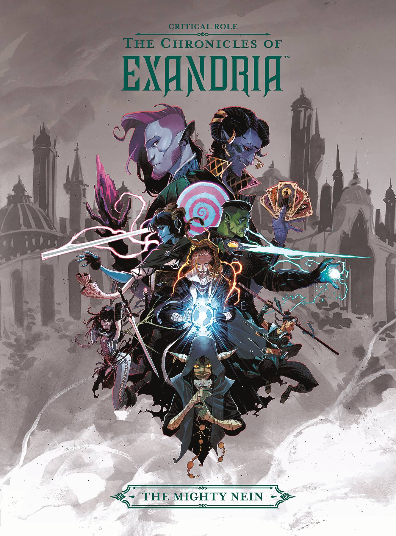 Critical Role Chronicles of Exandria Mighty Nein Volume 1 HC