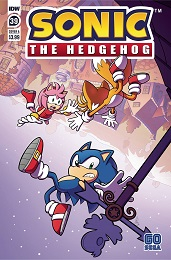 Sonic the Hedgehog no. 39 (2018 Series)