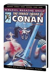 Marvel Years Omnibus: The Savage Sword of Conan Volume 5 HC (MR)