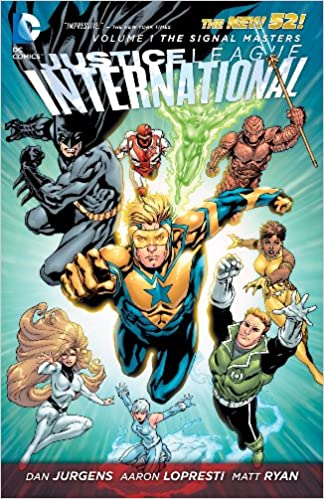 Justice League International Volume 1: The Signal Masters TP - Used