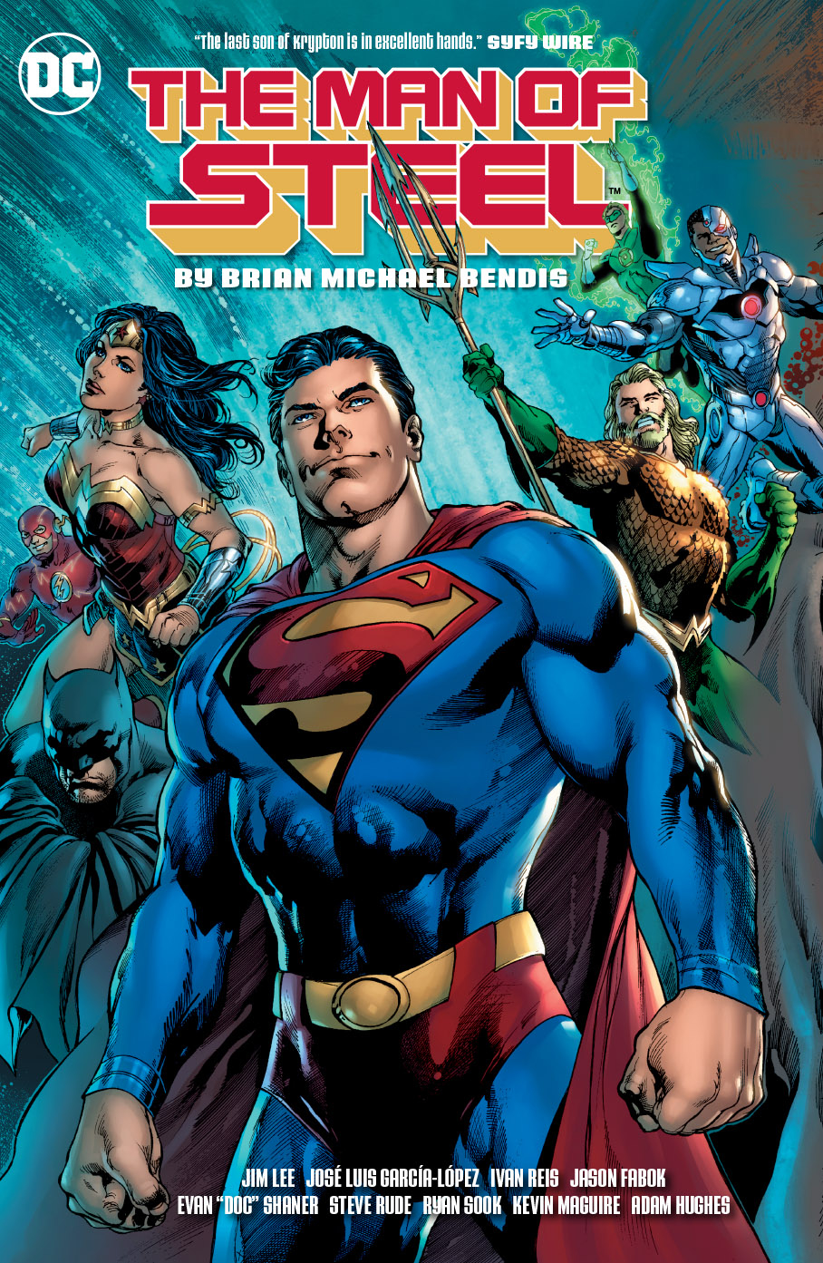 Man of Steel by Brian Bendis HC (2018)
