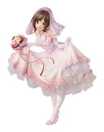 Idol Master CG: Miku Maekawa PVC Figure (Dream Bride)