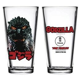 Toon Tumblers: Godzilla Head Pint Glass