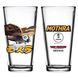 Toon Tumblers: Godzilla Mothra Pint Glass