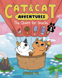 Cat and Cat Adventures: The Quest for Snacks Volume 1 GN