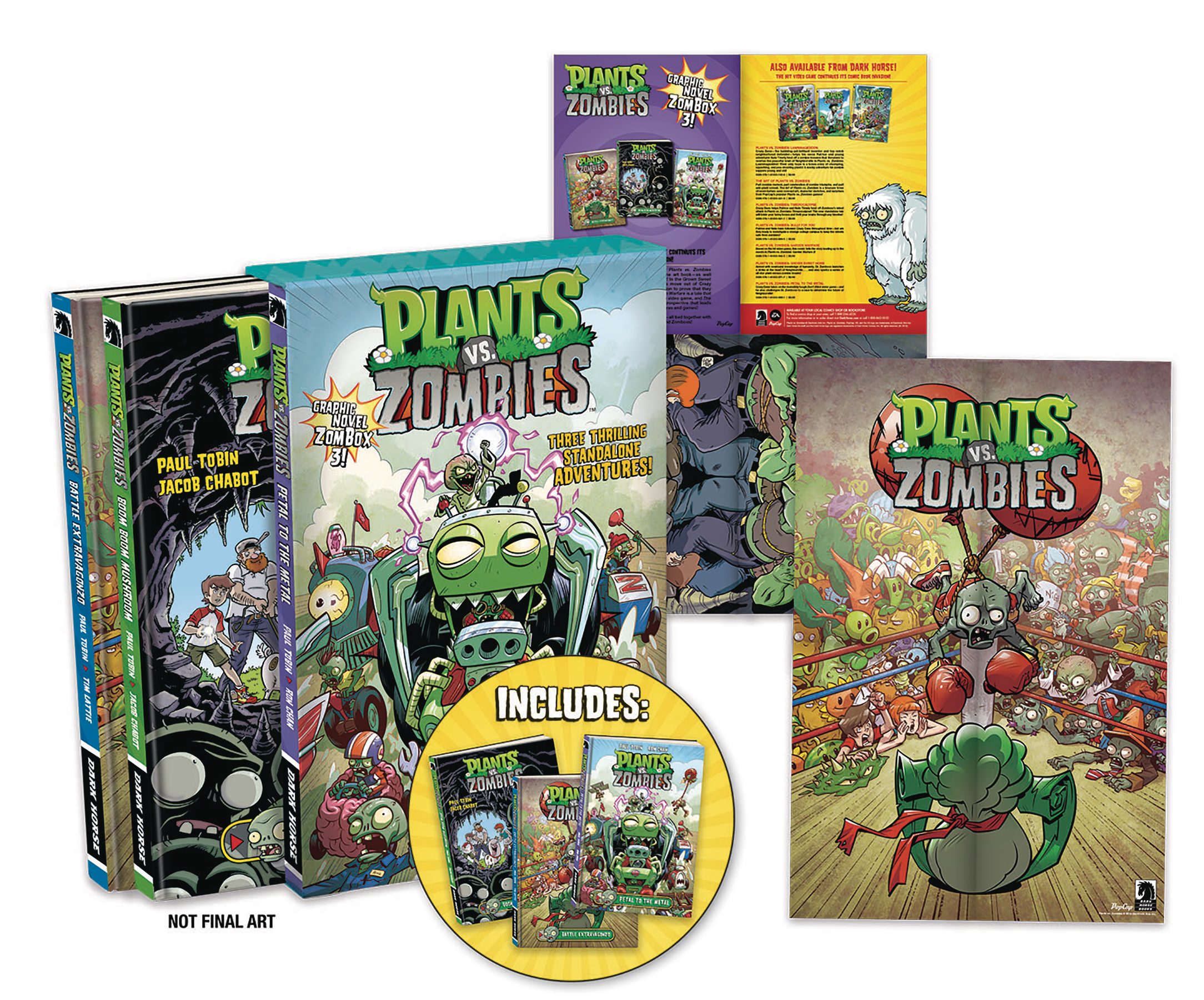 Plants vs Zombies Box Set: Volume 3 HC (2015)