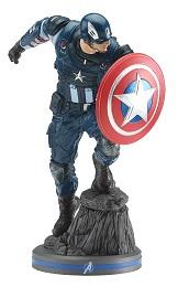 Marvel Gamerverse: Avengers Captain America PVC Statue