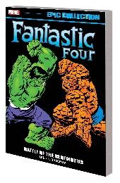Fantastic Four: Epic Collection: Battle Behemoths TP