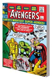 Avengers: Earth's Mightiest Super-Heroes Volume 1 TP (Jack Kirby - Original Cover Variant)