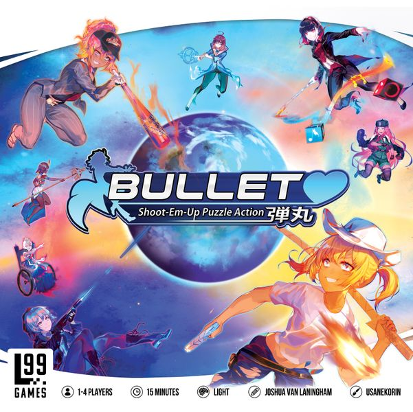 Bullet: Shoot-Em-Up Puzzle Action Board Game
