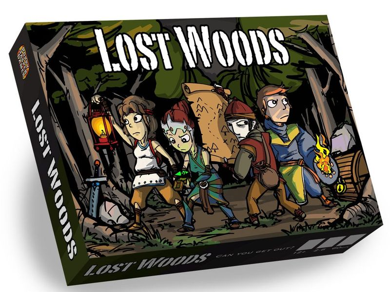 Lost Woods Board Game