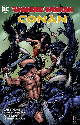 Wonder Woman Conan HC