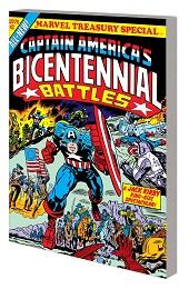 Captain America: Bicentennial Battles TP (New Treasury Edition)