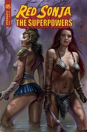 Red Sonja: The Superpowers no. 5 (2021 Series)