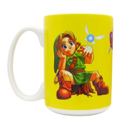 Legend of Zelda Ocarina of Time: Lil Link Mug