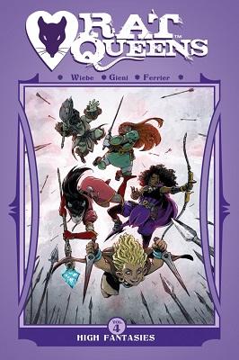 Rat Queens: Volume 4: High Fantasies TP (MR)